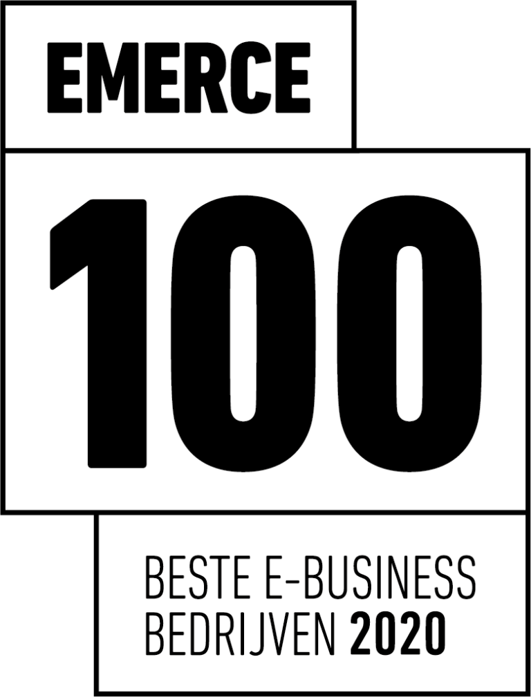 Ematters bovenaan de Emerece TOP 100